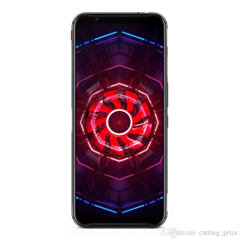 "Original Nubia Red Magic 3 4G LTE Cell Phone Gaming 8GB RAM 128GB ROM Snapdragon 855 Octa Core Android 6.65"" Full Screen 48MP 5000mAh Fingerprint ID Smart Mobile Phone"