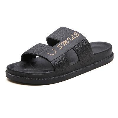 sapatos chinelos legal da praia 2019 novos homens vestindo suave palavra do arrasto de fundo anti-derrapante