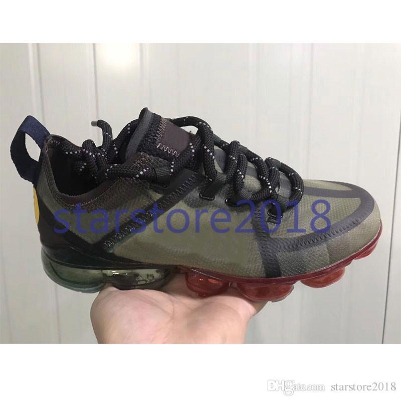 Nike Vapormax CPFM CACTUS PLANT FLEA MARKET Männer Laufschuhe Top-Qualität Lächeln Gesicht Marke schwarz Herren Trainer Mode Sport Turnschuhe mit Box