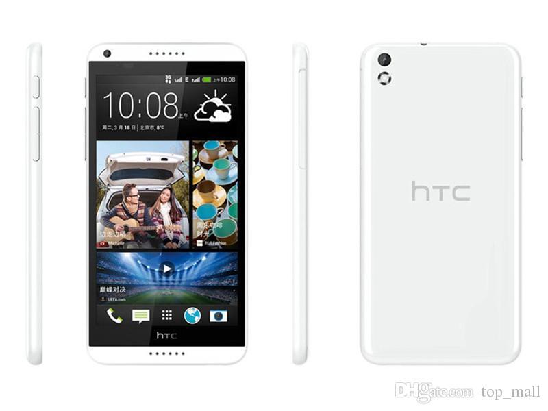 الأصلي تجديد HTC الرغبة 816 المزدوج سيم رباعية النواة 1.5GB RAM 8GB ROM 13MP الجيل الثالث 3G WCDMA الهاتف