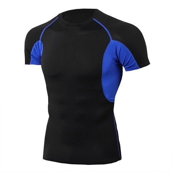 새로운 옥외 착용 스포츠 의류 피트니스 착용 fitnes 짧은 소매 셔츠 러닝 좋은 품질 핑크 색상