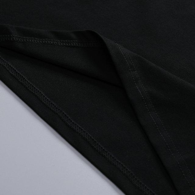 2020 yeni yüksek kaliteli erkek yaz pamuk aşağı doğru tişört ZFPA DPJ4