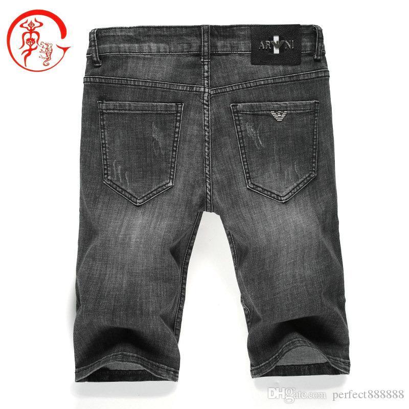 K99DK99KJ K170 AJ-JEANS spring summer Outdoor Pants Thin Five points pant trousers Stretch jeans cotton business casual trousers slacks