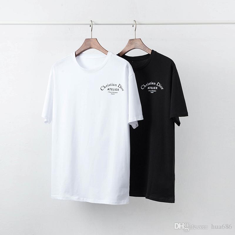 2019ss Marken neueste G-Mode lässig Männer Phillip Plain Kurzarm T-Shirt Schädel Meduse Männer 3D Schlange DOG Brief Polo-T-Shirt Tops
