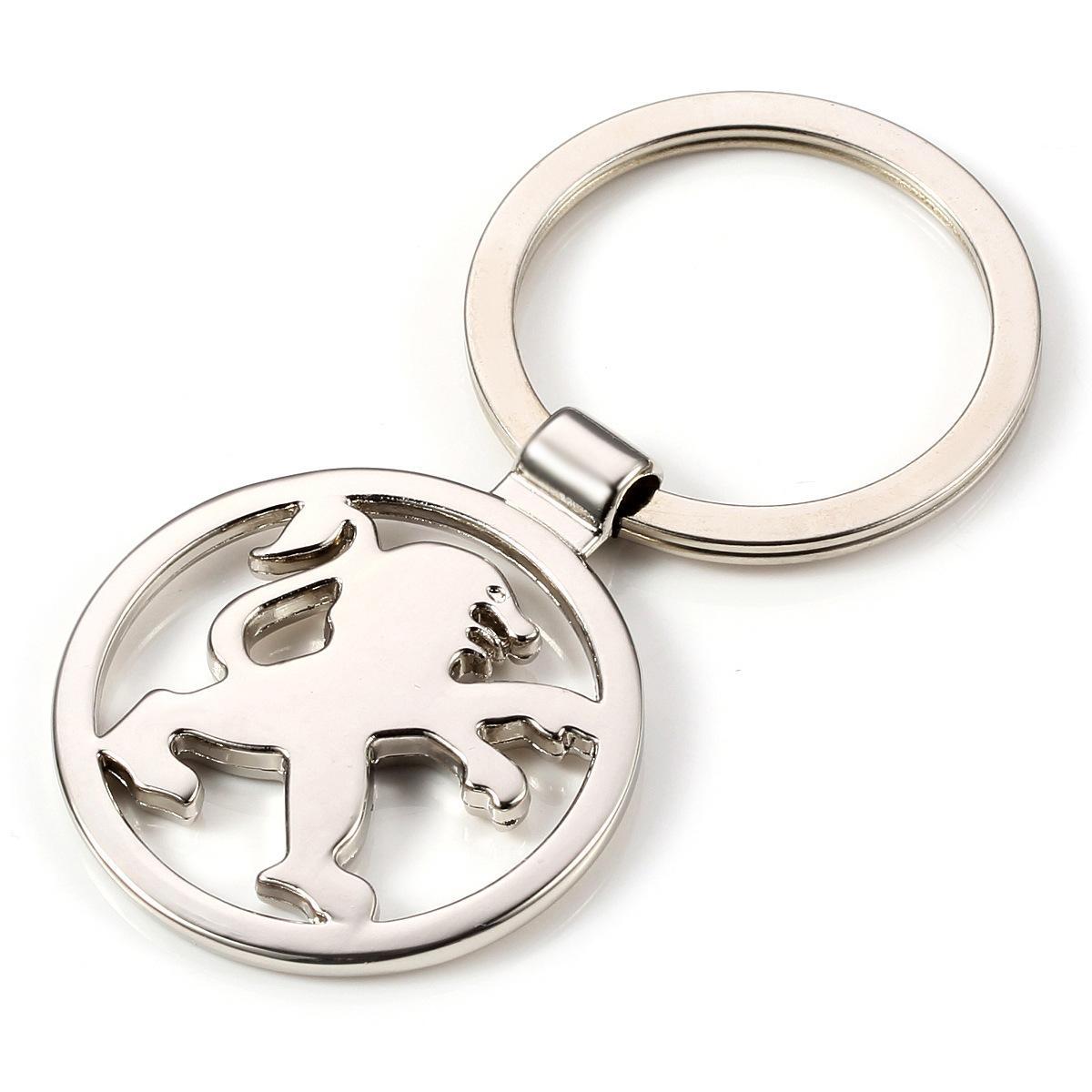 بيجو 406 2008 3008 208 508 607 مدير شريك شعار شارة معدنية Embem كيرينغ حلقة المفاتيح مفتاح سلسلة