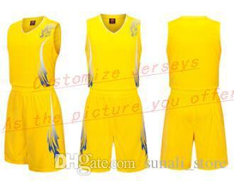 Tout nom personnalisé Tout numéro Hommes Femmes Lady jeunes enfants garçons Basket-ball Maillots Sport Chemises Comme les photos que vous Offre B349