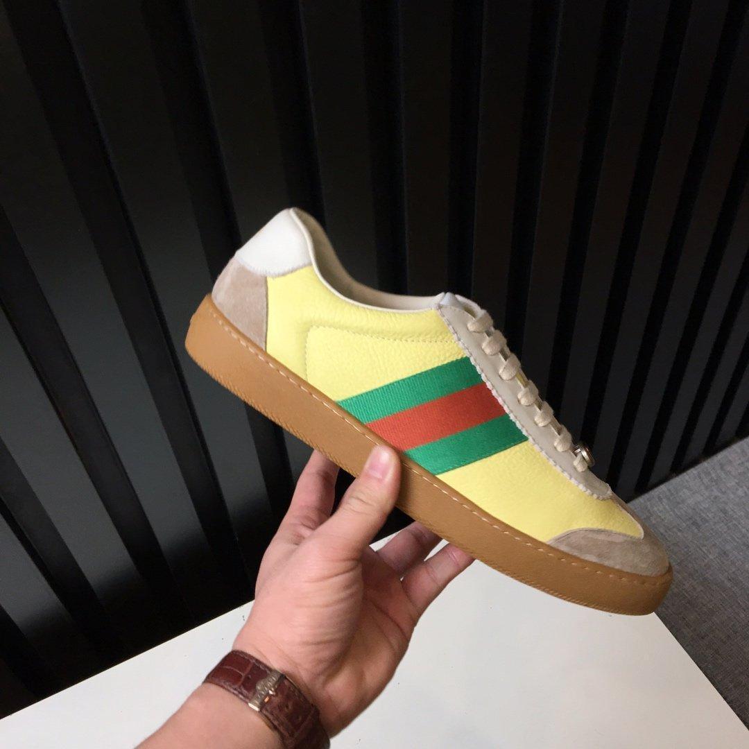 artefact de rencontre pour les chaussures hommes occasionnels Chaussures DESIGNERS nuit baskets club matériaux avancés or blanc brun noir avec boîte Z01