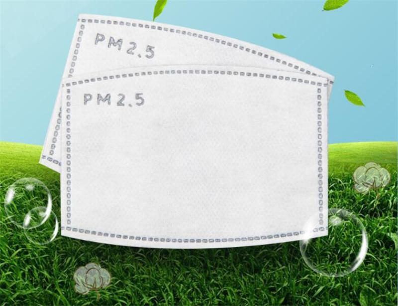100 Disposable Gasket Safe Anti Dust Breathable Mouth PM2.5 Face Mask Replacement Pad Comfortable Pad