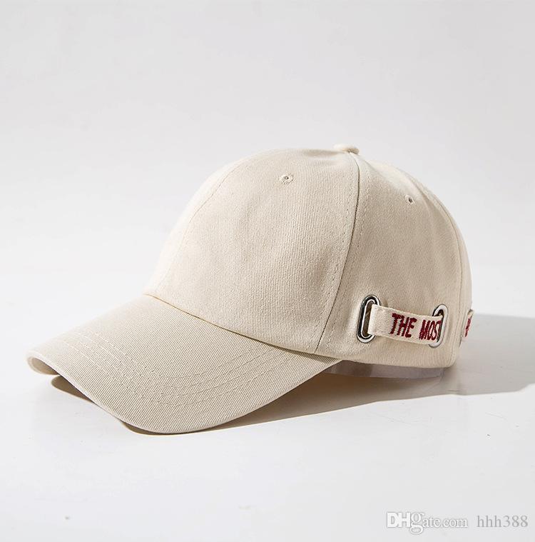 Homme hip-hop casquette de baseball chapeau soleil sud-coréen hipster noir chapeau