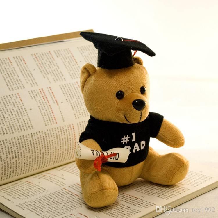 2019 Dr. urso de brinquedo novo urso de pelúcia 20 centímetros presente de formatura menino brinquedo de peluche bonito urso de pelúcia animais presente de Natal menina 66