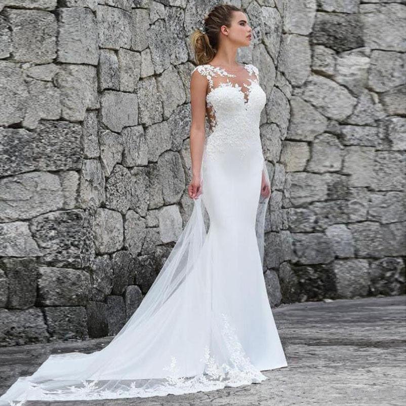 인 어 공주 웨딩 드레스 중동 2019 아플리케 레이스 신부 드레스 플러스 크기 웨딩 드레스 럭셔리 드레스 vestidos