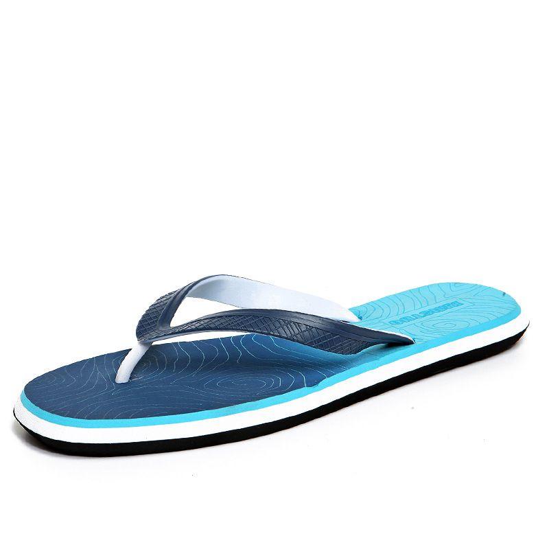 Sommermänner Flip-Flops Großhandel Mann ist Pantoffeln kühlen Pantoffeln Sandalen Steigung ziehen nach Hause nach Hause kühl