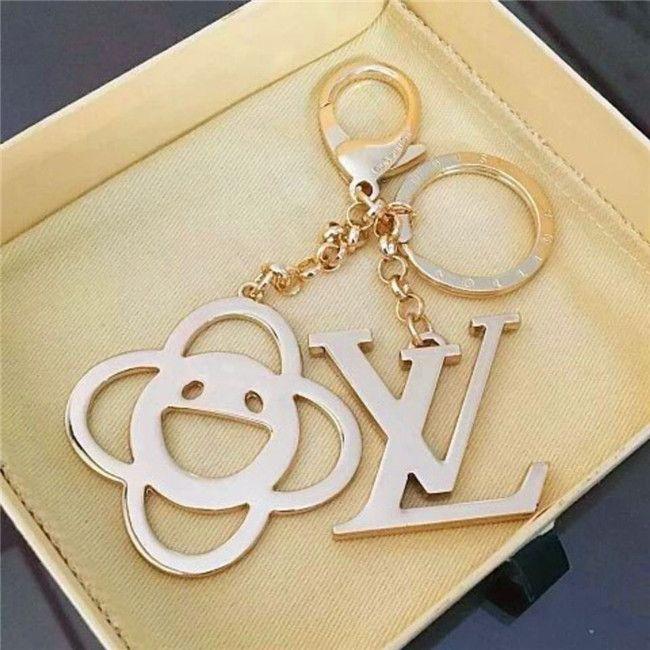 chaveiro circular letra luxo delicado chaveiro charme da moda múltipla bolsa pingente