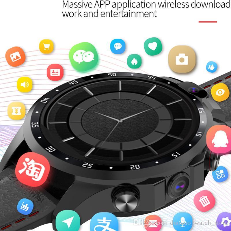 Новые 4G Smart Watch Android 7.1 1.6 дюйма IPS Большой экран IP67 Водонепроницаемый 5MP камера Поддержка Многофункциональный режим Режим SmartWatch