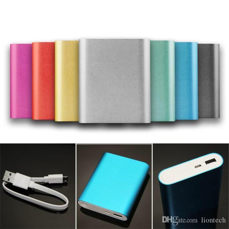 Carregador de energia de backup banco de alimentação 10400mAh Universal bateria externa para iPhone Samsung Celular Tablet 50pcs / até