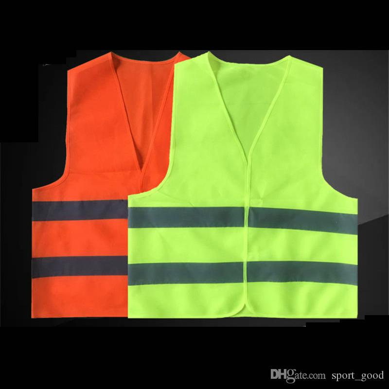 Hot one size Reflective Vest Working Clothes Provides High Visibility Day Night Running Cycling For Running Cycling Warning Safety vest