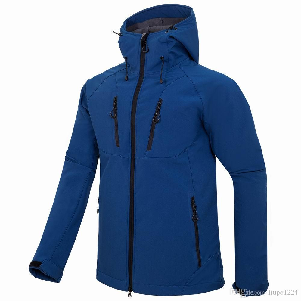 2019 Outdoor Men's Hoodies SoftShell north Jackets Apex Bionic Windproof Waterproof Camping Ski Down Sportswe face jacket 1830