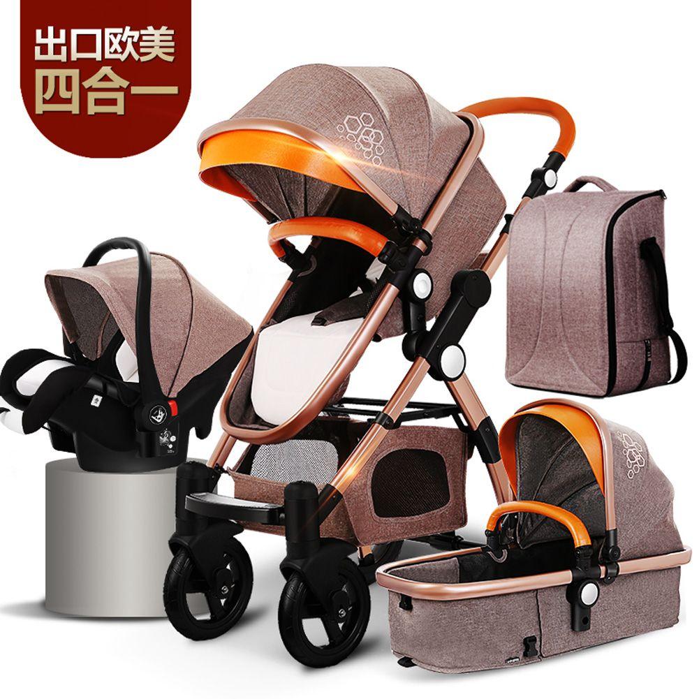 high end baby strollers 3 in 1 stroller 4