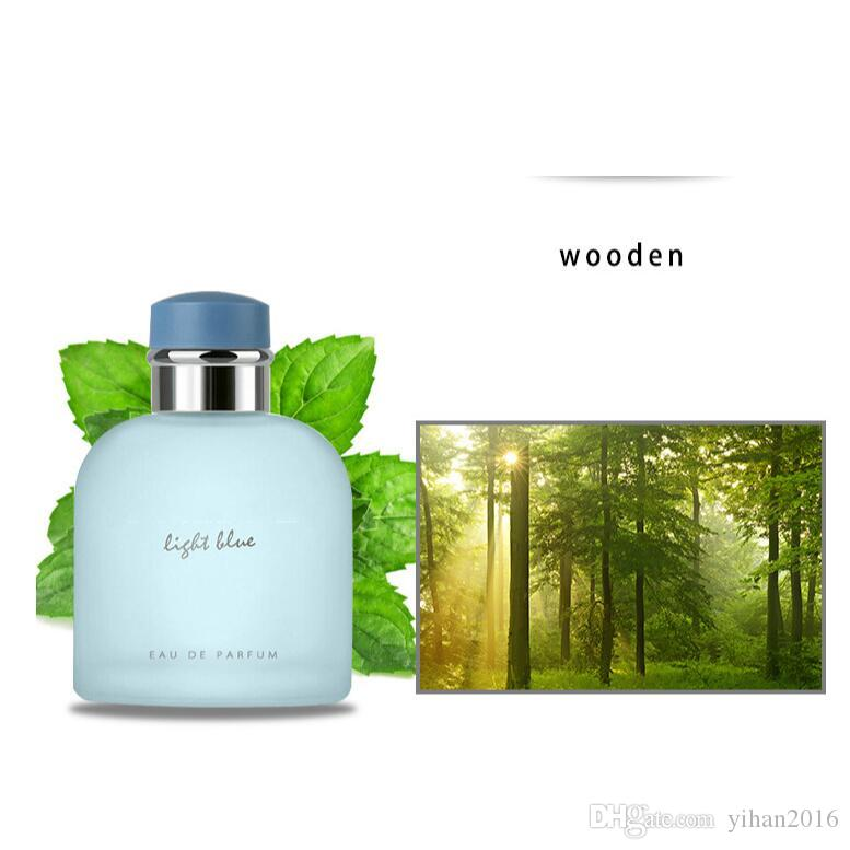 Top A +++ !! Perfumes AZZURRO del profumo per l'uomo 100ml Parfum Spray Long Lasting il trasporto libero Frangrance