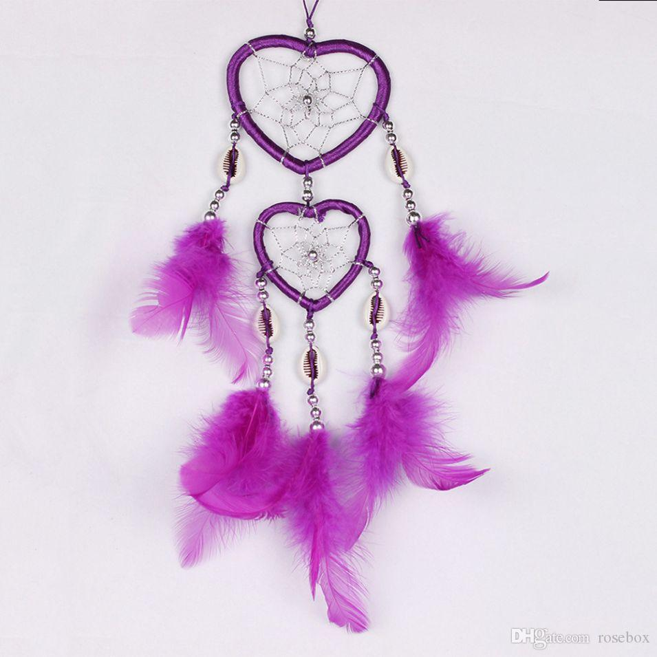- Couples Dream Catcher Pendant Christmas Day Window Decoration Baby