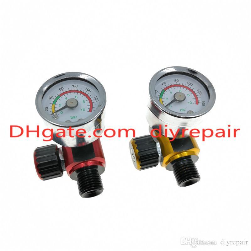 HVLP Распылительный пистолет Регулятор часы Регулятор давления воздуха Регулятор хвостового давления Регулятор распылителя