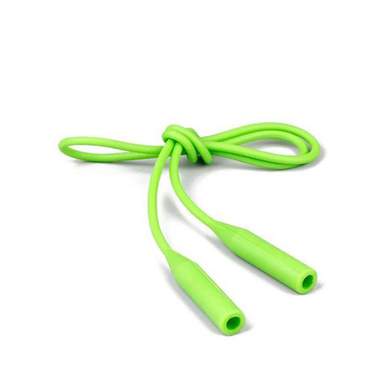 5pcs Climbing elastische Silikon-Glas-Frauen Männer Brillen-Bügel Anti Slip Zubehör String Ungiftiger Outdoor Sports Lanyard