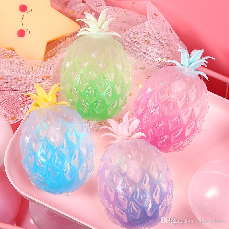 Newest Anti-Stress Reliever Pineapple Stress Relief Relax Squeeze Toy For Autism