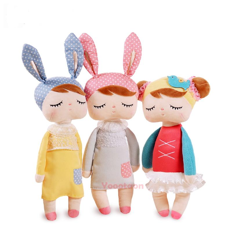 13 Inch Plush Stuffed Animal Cartoon Kids Toys for Girls Children Baby Birthday Christmas Gift Kawaii Angela Rabbit Doll