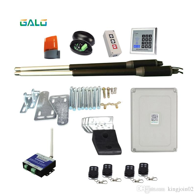 GALO Linear Actuator DC Worm Gear Automatic Swing Gate Opener (خلايا ضوئية ، مصباح ، زر ضغط ، مشغل gsm اختياري)