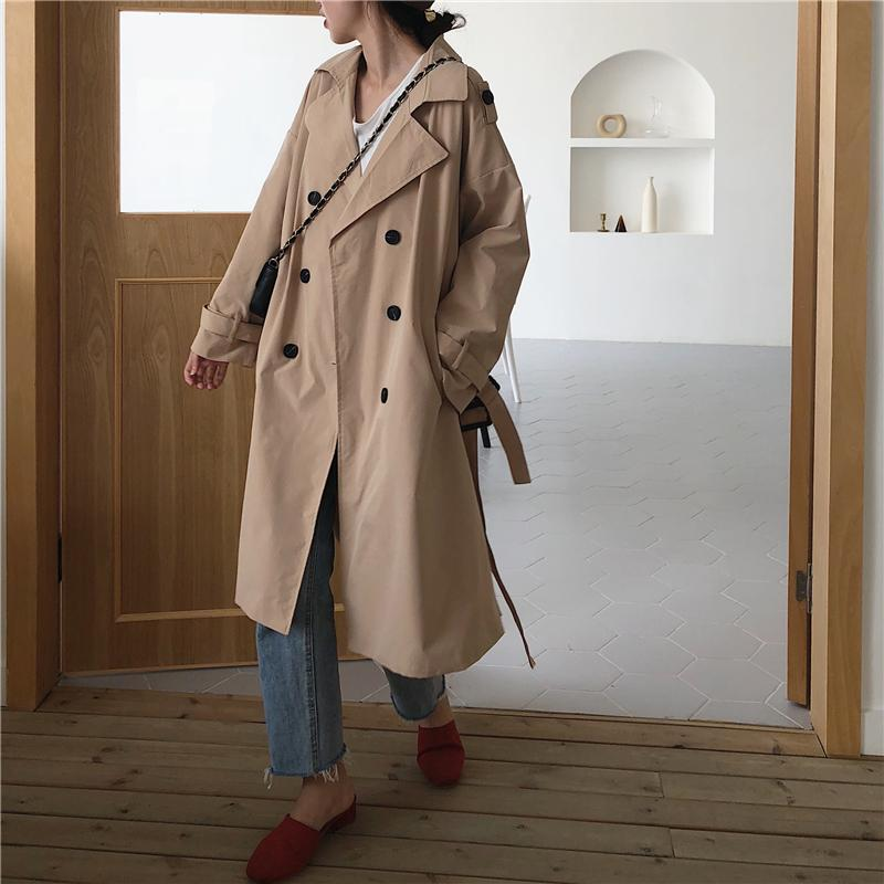 2021 2019 Trendy C Long Trench Coat, Trendy Trench Coats 2019