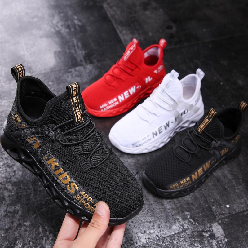 Kid Бег кроссовки детей лета Спортивная обувь Тенис Infantil Boy Basket Обувь Легкий дышащий Девочка Chaussure Enfant T191210