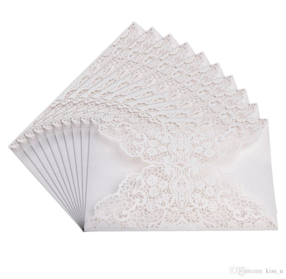 (Only Cover)100pcs Vertical Laser Cut Flower Butterfly Invitations Cards Kits for Wedding Bridal Shower Birthday