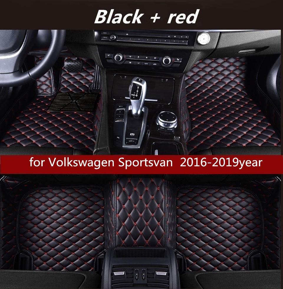 для Volkswagen Sportsvan 2016-2019year Покрытия нетоксичного пола коврик коврик автомобиля пола