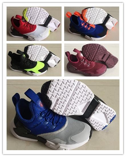 Huarache deriva infantis Running Shoes esportes dos miúdos brancos Crianças huaraches 6 Designer Hurache formadores Casual bebê Correndo Sneakers