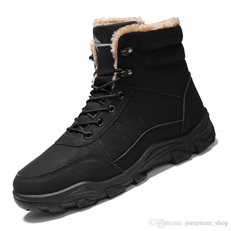 Кожа Top Мужчины высокого качества Boots Спецназ Tactical Combat Desert Мужские сапоги на открытом воздухе обувь Ботильоны