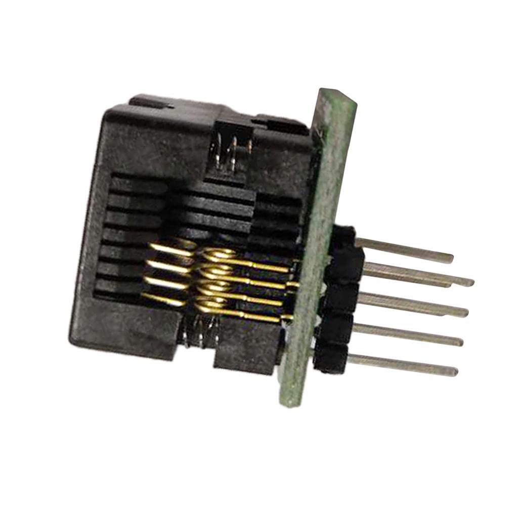 DIP8 프로그래머 어댑터 소켓 Converte 브레이크 아웃 PCB 보드에 SOP8