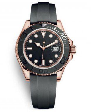 Montre-bracelet de luxe en acier inoxydable 2019 avec montre de luxe discrète de 40 mm contre la coloration de l'eau