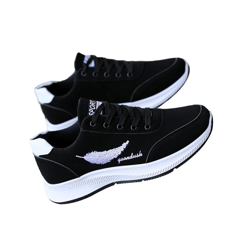2019 novos homens sapatos de grife vermelhos sapatos casuais brancos pretos confortável de qualidade superior ao ar livre penas desportivas sneakers sapatos tamanho 40-44