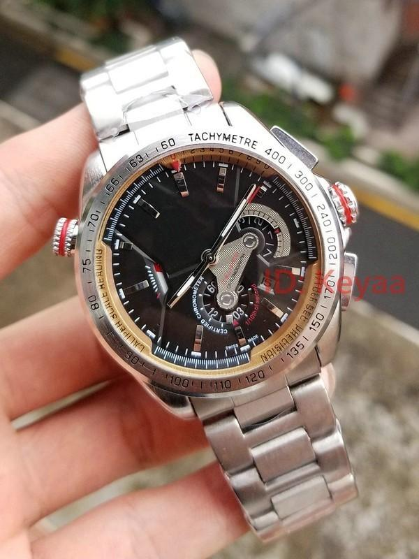2020 Top 2813 Men'sMechanical Stainless Steel Automatic Movement Watch Sports mens Self-wind Watches Fashion tag Wristwatch
