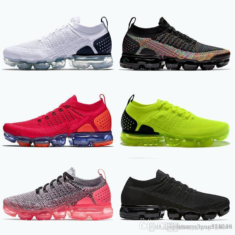 Hot Selling FK Knit 2.0 tn plus running shoes for men women Triple Black White Red Orbit Volt Metallic Gold trainers sneakers