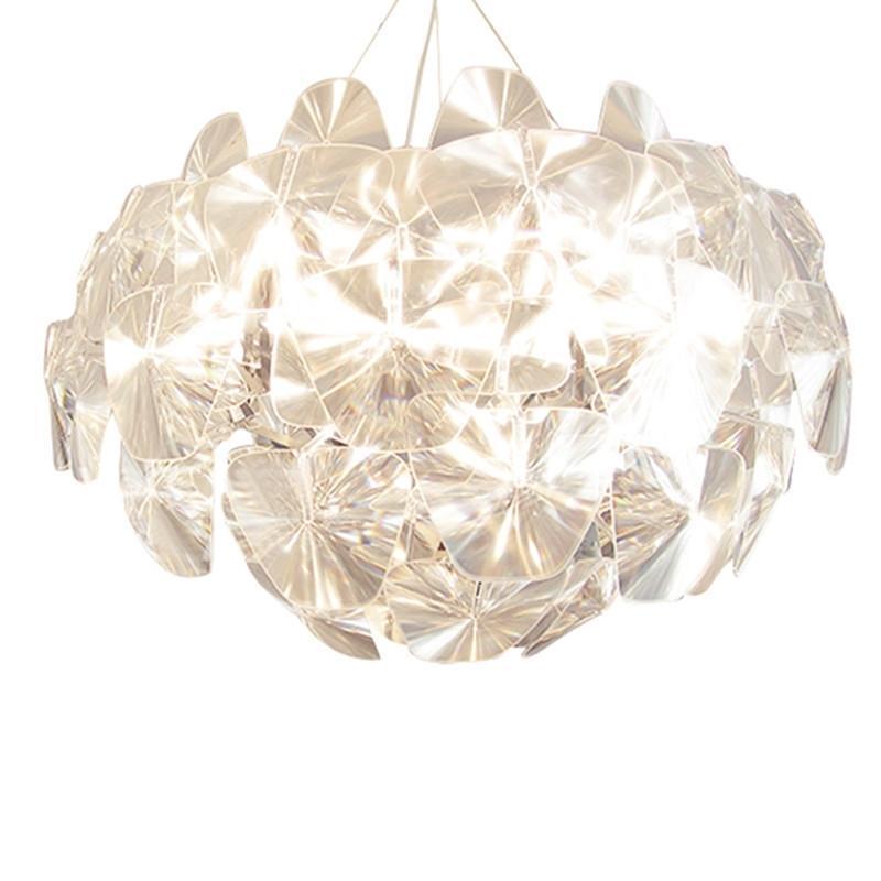 الحديث LED الاكريليك قلادة الأنوار hanglamp قلادة فاخرة الأمل بريق مصباح لغرفة المعيشة الرئيسية مطبخ تركيبات الإضاءة لغرف النوم