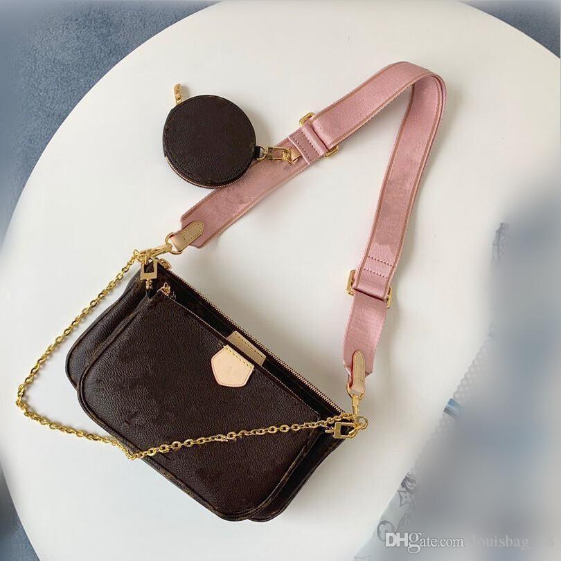 Hot 3 designers de pièce à main, sacs sac à bandoulière classique mode portefeuilles chaîne sac fourre-tout sacs à main pliés sans boîte