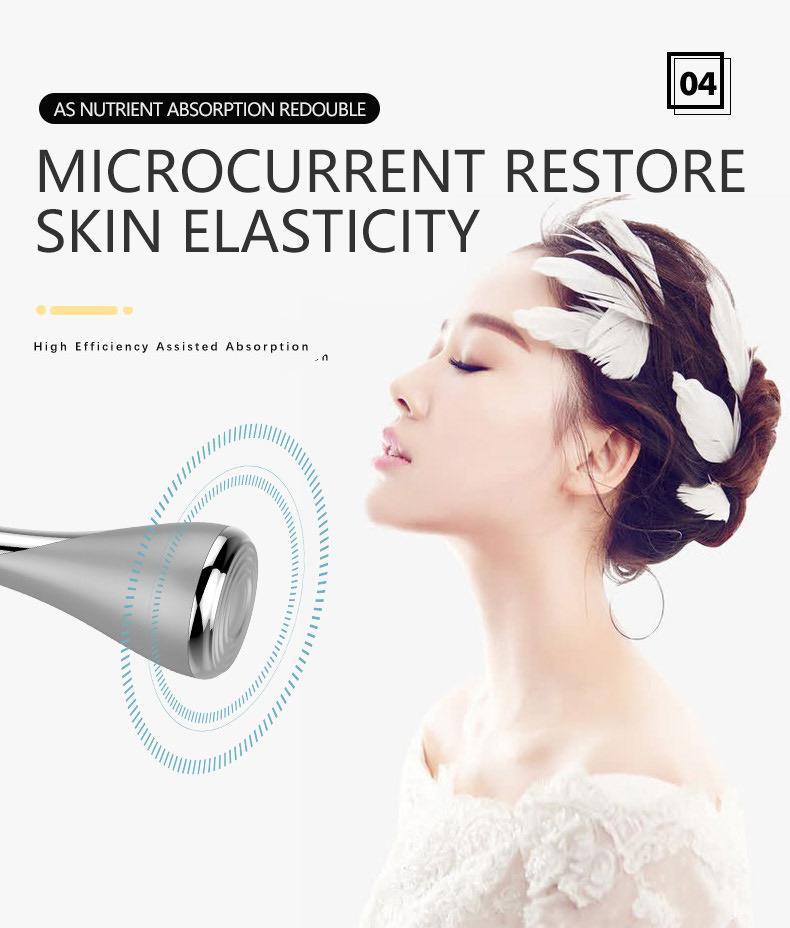Manyetik Iyon Temizleme enstrüman Güzellik mikro akım gençleştirme Iyon terapi yüz anti-aging Cilt yüz kaldırma Sıkma