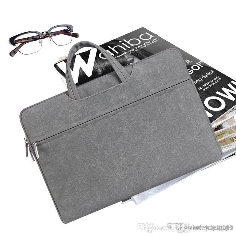 UK Hot Verkauf große Kapazitäts-Laptop-Handtaschen für Männer Frauen Reise-Aktenkoffer Bussiness Notebooktaschen 11 12 13 14 15 Zoll Macbook Pro Dell PC