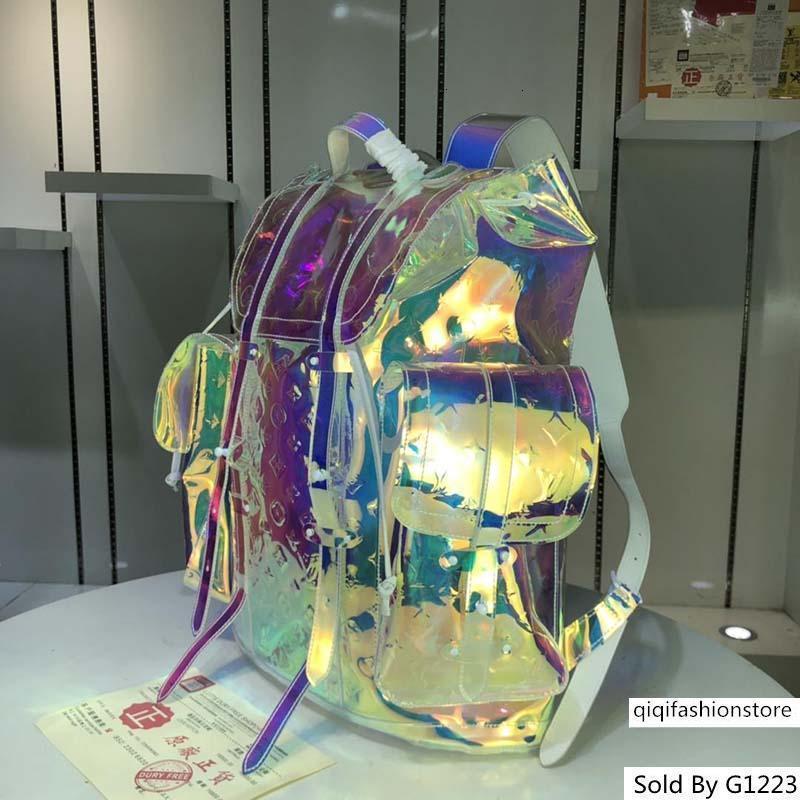 mochila hombres bolsos monederos mensajero FannyPack equipaje bolso de diseño de la vendimia M53286