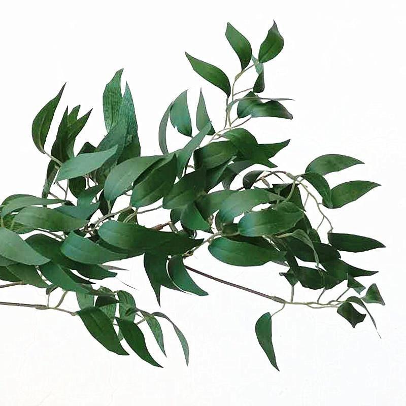 시뮬레이션 꽃 덩굴 결혼식 축하 버드 나무 잎 녹색 색상 은색 벽 로맨틱 등나무 파티 장식 새로운 Arriaval 16hzE1 매달려
