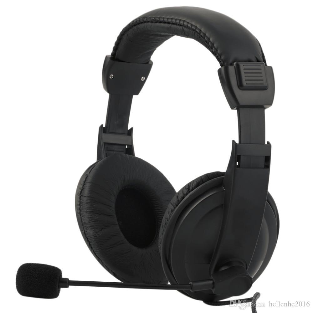 سماعة الحاسوب متكلم لعبة الموسيقى سماعة سماعات مع ميكروفون للفيديو صوت سكايب