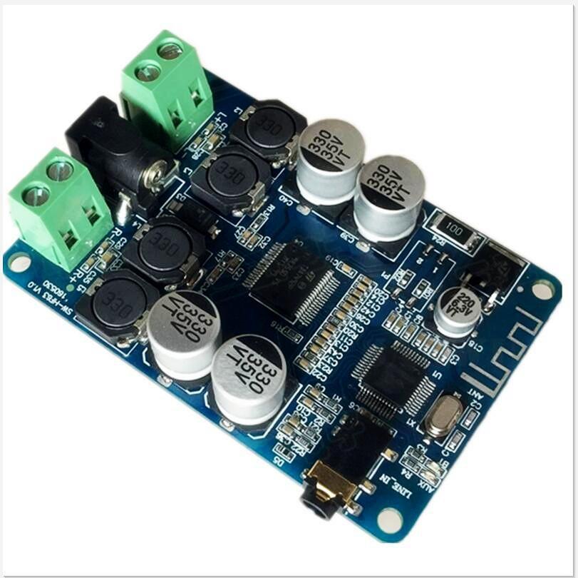 TDA7492P Bluetooth Alıcı Amplifikatör Ses Kurulu 25WX25W Hoparlörler Modifiye Müzik Mini Amplifikatörler Diy Çift kanallı