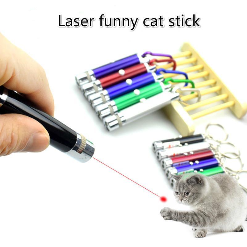 laser domestico elettronica gatto di presa in giro del bastone LED a infrarossi e gatto cane giocattolo materiale didattico di formazione bastone laser 5 modelli