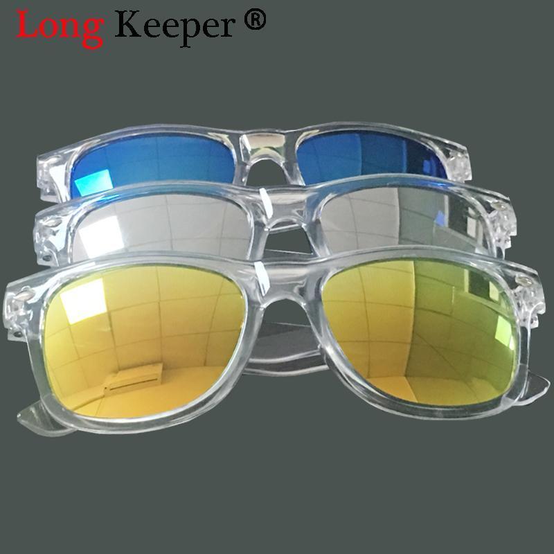 Lungo Keeper nuovo modo di marca degli occhiali da sole per bambini Bambino Nero Blu Occhiali da sole anti-UV di Sun del bambino-Shading occhiali Ragazza Ragazzo Sunglass mViHI